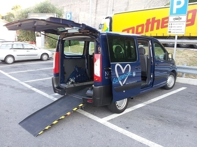 Wheelchair Van Rentals - BLUERENTAL AUTONOLEGGIO